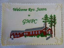 Jason\'s Installation Cake
